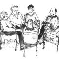 Разбирането за преноса в груповата анализа